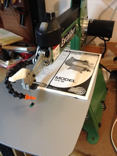 Excalibur Scroll Saw Plus Other Tools For Sale By Newdog