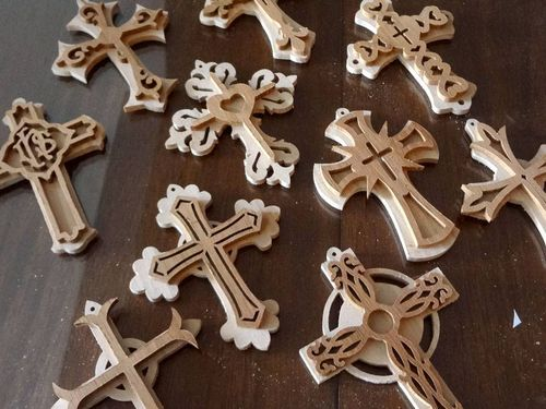 My Journey As A Creative Designer Woodworking And Beyond 60 Best Scroll Saw Cross Patterns