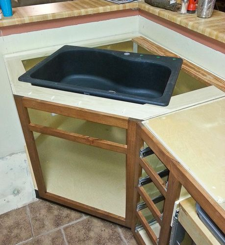 Kitchen Cabinets Ideas 24 inch kitchen sink base cabinet : Mike and Pat's Kitchen Remodel #7: Lower Cabinet Construction and ...