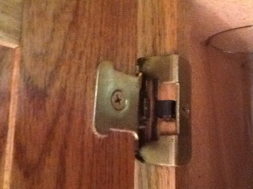 Merveilleux Old Hinge On Kitchen Cabinet Door   By Eric @ LumberJocks.com ~ Woodworking  Community
