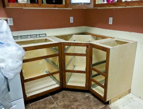 Best wood for painted kitchen cabinets - by BJODay @ LumberJocks.com ...