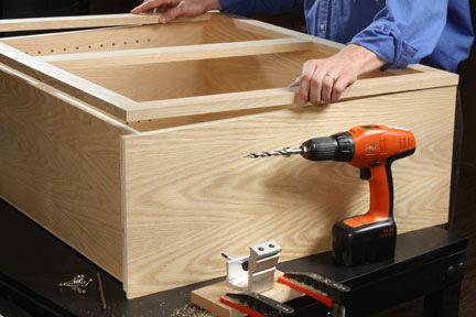 Furniture Making Tutorials #7: Attaching Face Frames - by ...