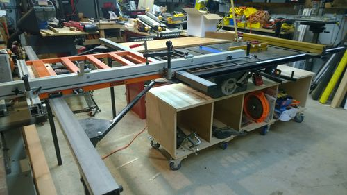 Craftsman Contractor's Table Saw Outfeed Table - by bkseitz ...