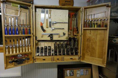 Building a wall hanging tool cabinet #6: #6 - by ...