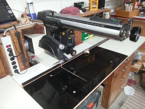Workbench For A 1963 Craftsman Radial Arm Saw Model 103