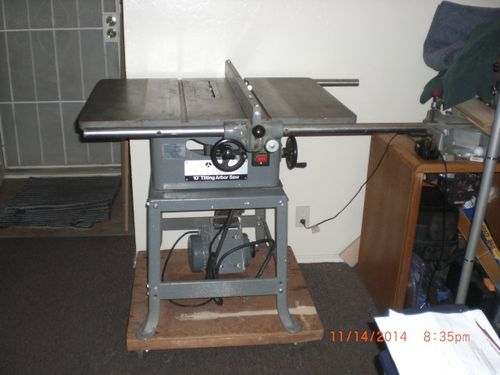 New To Me Rockwell Tablesaw 1 Just Got The Saw Now For