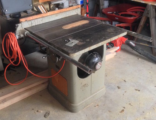 How do you rewire a 1952 delta unisaw rockwell milwaukee table saw here is a photo of the table saw greentooth Choice Image