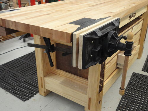 Mounting A Woodworking Vise Woodworking Projects Ideas