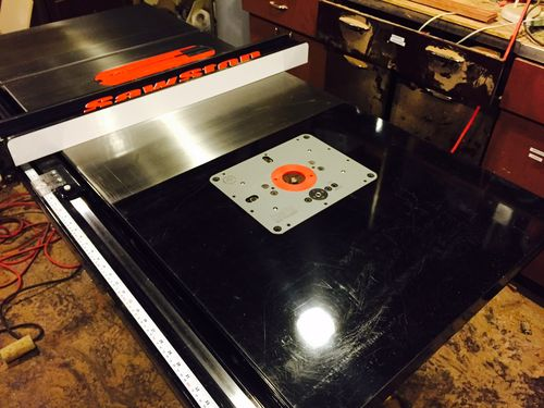 Router table extension jessem rout r lift ii by bootstripp i need a good plan for a router fence to use over my table saw fence anyone have any floating around out there greentooth Images