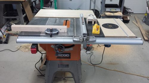 Ridgid r4512 table saw 1 my r4512 setup by uminded lumberjocks ridgid r4512 table saw 1 my r4512 setup by uminded lumberjocks woodworking community greentooth Choice Image