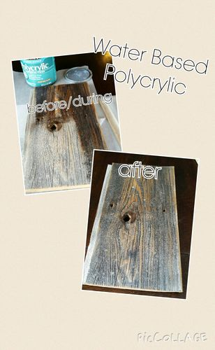 How to finish the wood - and keep the patina? - by Jenine
