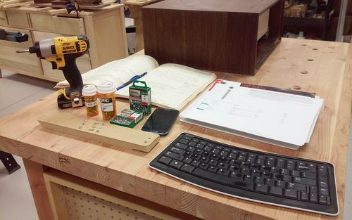 MDF and Drawer Slides #1: What screw type or method is best to