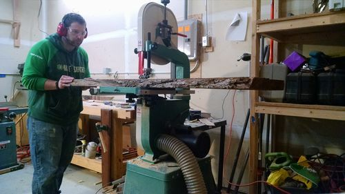how to cut back legs of hal taylor rocking chair