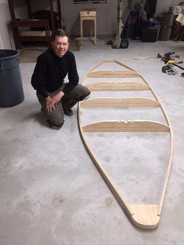 Building a KARA Hummer Layout Duck Boat #1: Building the Lower Frame ...