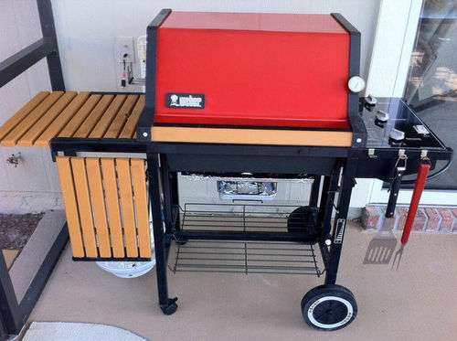 A Outdoor Storage Shed For My Bbq Grill 3 Stretchers And