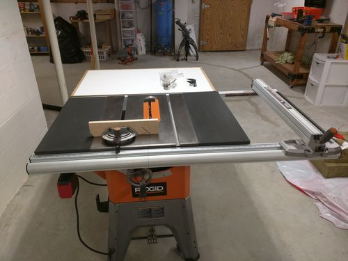 Ridgid 10 cast iron table saw for sale on craigslist by for 10 inch table saws for sale