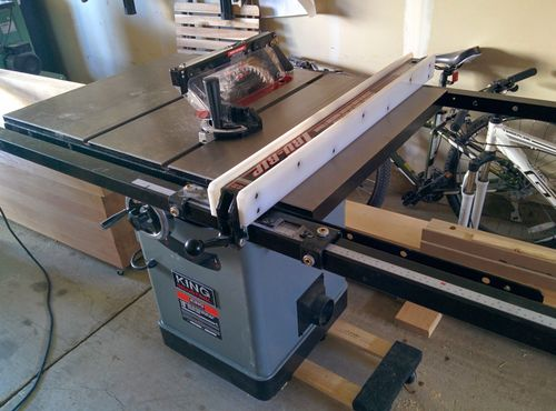 King Kc 10jcs Table Saw Review By Making Sawdust