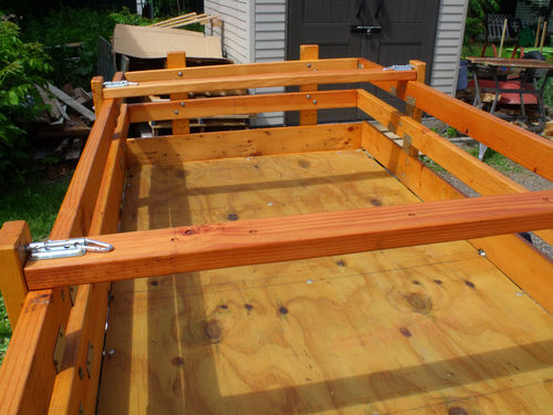Woodworking on a half shoestring 45 harbor freight for Side by side plans