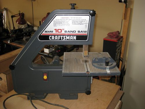 Smaller bandsaw options by mingus2112 lumberjocks the craftsman in my first post didnt look nearly that tall i just cant find specs on how tall it is keyboard keysfo Images