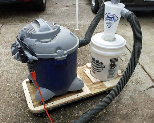 Shop vac is crushing dust deputized 5 gallon bucket by yinzer good luck that s all i can think of for now greentooth Gallery