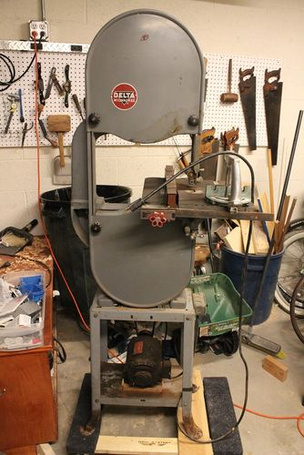 "Used Tires Phoenix >> 1953 Delta Milwaukee 14"" Band Saw Restoration #1 ..."