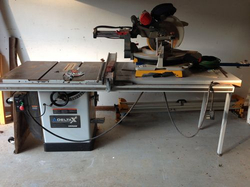 Used Unisaw Or New Hybrid Contractor Saw By Skdanser