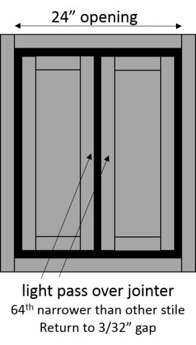 So that covers relative door dimensioning and the relationship to reveals. I havenu0027t even mentioned the Blum hinges. Disappointing I know.  sc 1 st  LumberJocks.com : reveal door - pezcame.com