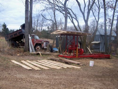 saw mill build - by david38 @ LumberJocks com ~ woodworking