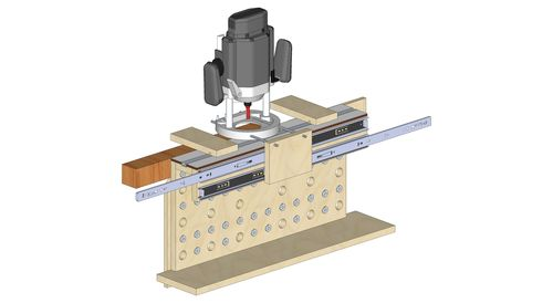 tenon 39 s space. will make only loose tenon joints, however should be able to them very accurately. i have a good thickness planer (dewalt dw735) so making accurately 39 s space