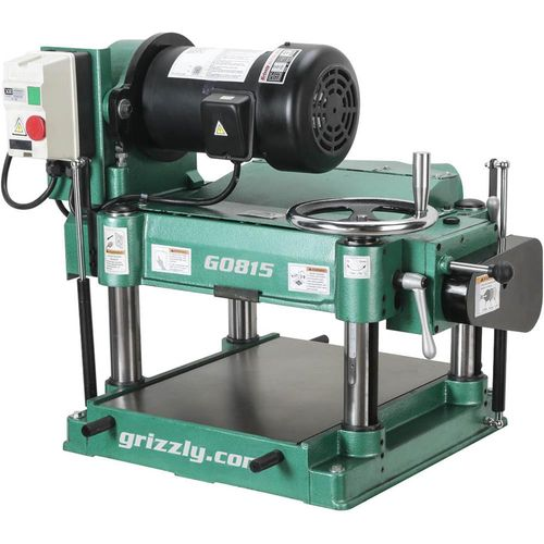 Any thoughts on Grizzlys new 15 inch planer (G0815)? - by EMWW ... on