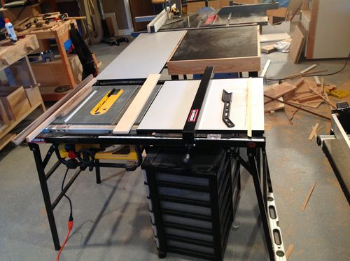 Extending the fence on a dewalt dw745 table saw by holzarbeiterin 10 replies so far greentooth Choice Image