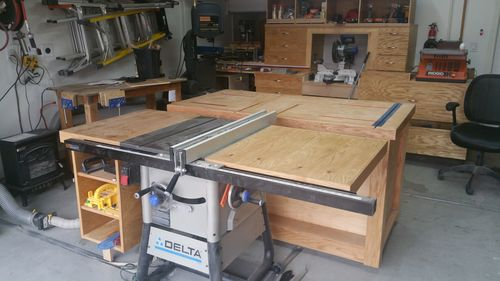 Right extention wing router table for delta table saw 36 725 by im about to add a router table on the right extention wing i just made for my delta table saw 37 725 i would just appreciate some advice before i just go greentooth Choice Image