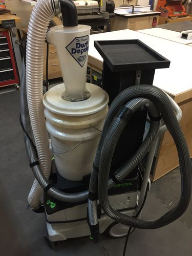Evolution Of A Shop 46 Festool Ct26 And Dust Deputy By