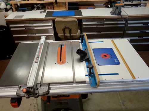 New router wing on my ridgid r4512 by woodwrecker lumberjocks here are a few shots greentooth