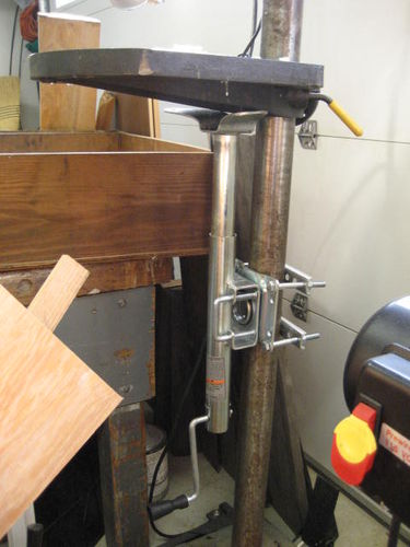 Need Ideas For Drill Press Height Adjustment By