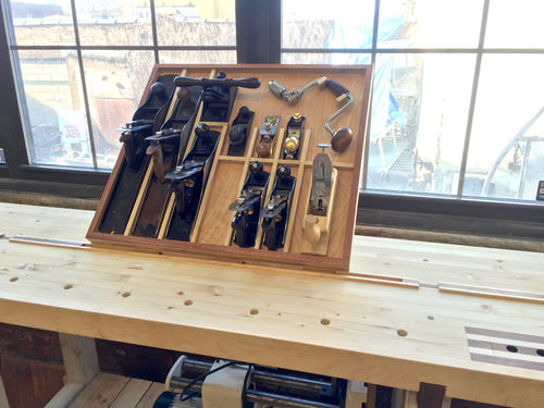 New Shop In The Raw 9 Hand Tool Storage Sharpening