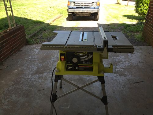 How to install ryobi table saw blade choice image wiring table ryobi rts21g review by sharpeye lumberjocks woodworking out of the box it was an easy set keyboard keysfo Images