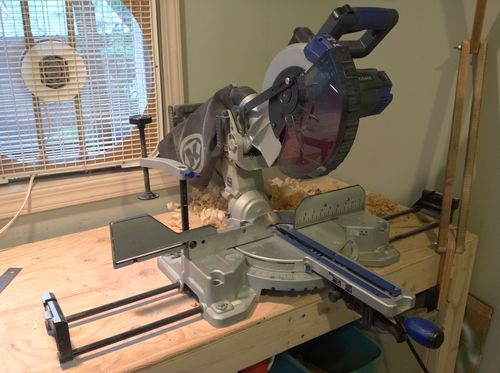 Miter Saw Staying On After Trigger Is Released - by LoyalAppleGeek