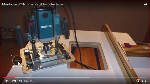 Plunge router table mount by willhime lumberjocks alaskans for global warming greentooth Image collections