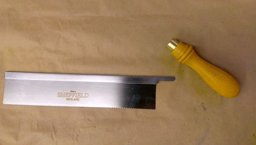 Dovetail Saw From A Gents Saw By Agenttwitch