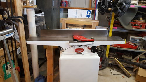 Help with an Old powermatic, 50, 6 inch jointer  - by