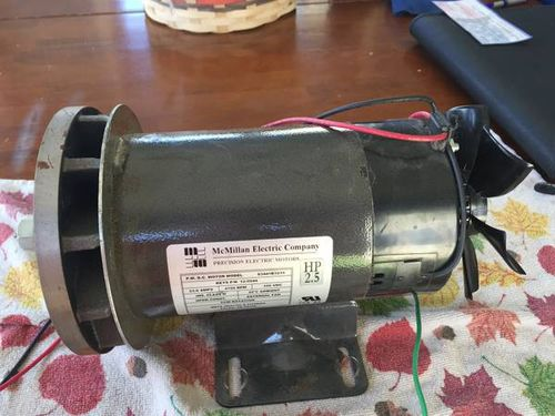 For Sale #1: Treadmill motor for homebuilt lathe or other projects ...
