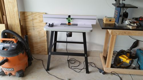 Harbor freight 2hp router for router table by davidnj i have one mounted in a table i have no issues with it i am also using one of the harbor freight speed controllers for it greentooth Images