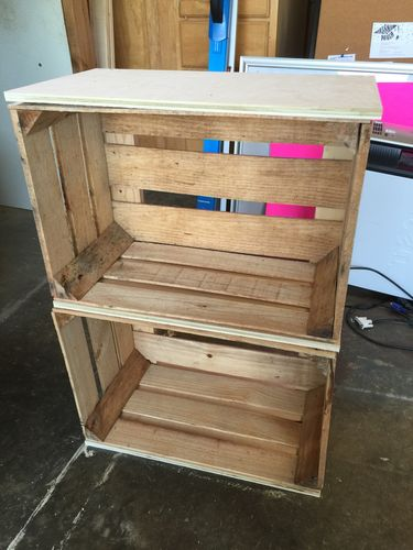 Crate Wood Creations 1 Furniture For Friends By