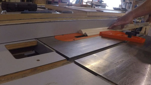 Making A Picture Frame From Decorative Door Casing And Framed A