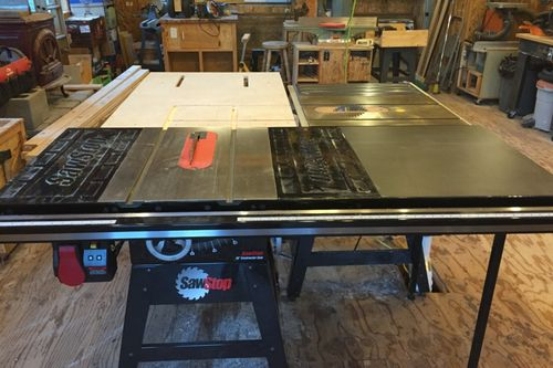 I want to use the new one for ripping and the old one for my cross-cut sled. It seems like I\u0027m always switching between these two. & My new table saw set up - 2 saws - by TTF @ LumberJocks.com ...