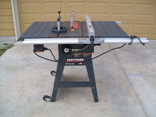 Craftsman 113 Table Saw With Damaged Trunnion