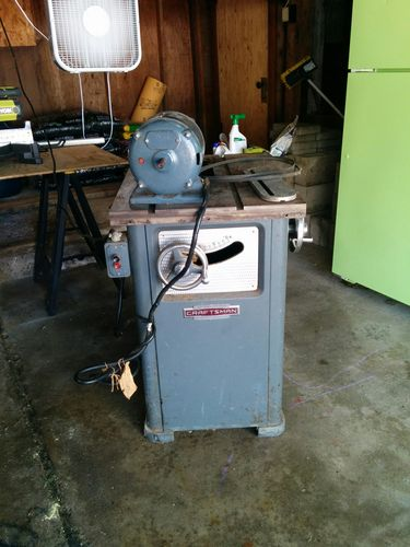 Restoring a craftsman 10 table saw 10327270 by conbran thanks for your assistance looking forward to restoring this workhorse and finally having a table saw in my hobby shop greentooth Gallery