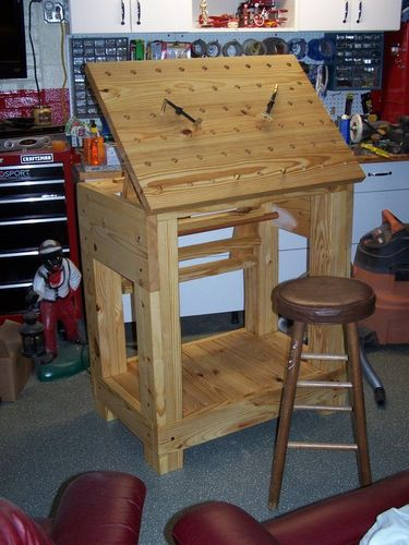 Relief carving bench by edscustomwoodcrafts