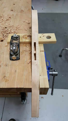 wood slicer bandsaw blade. i was pleased to learn that could use my leg taper jig for tapering the legs this trestle table. placed blue painter\u0027s tape down on surface of wood slicer bandsaw blade h